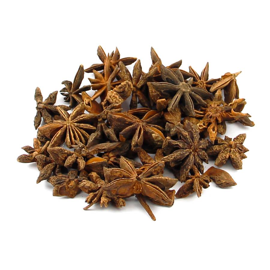 Anis-estrelado (Illicium verum).  20g