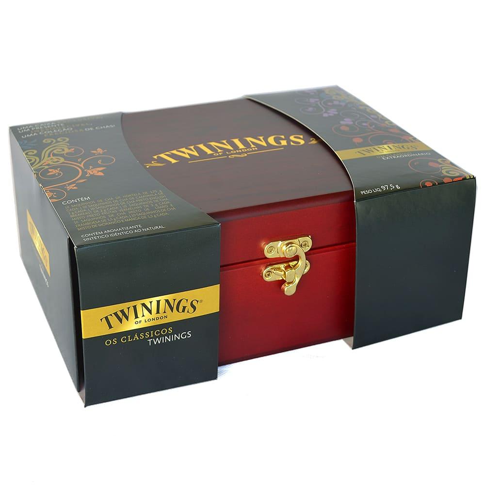 Caixa Coleção Chás Pretos Twinings 60 Sachês