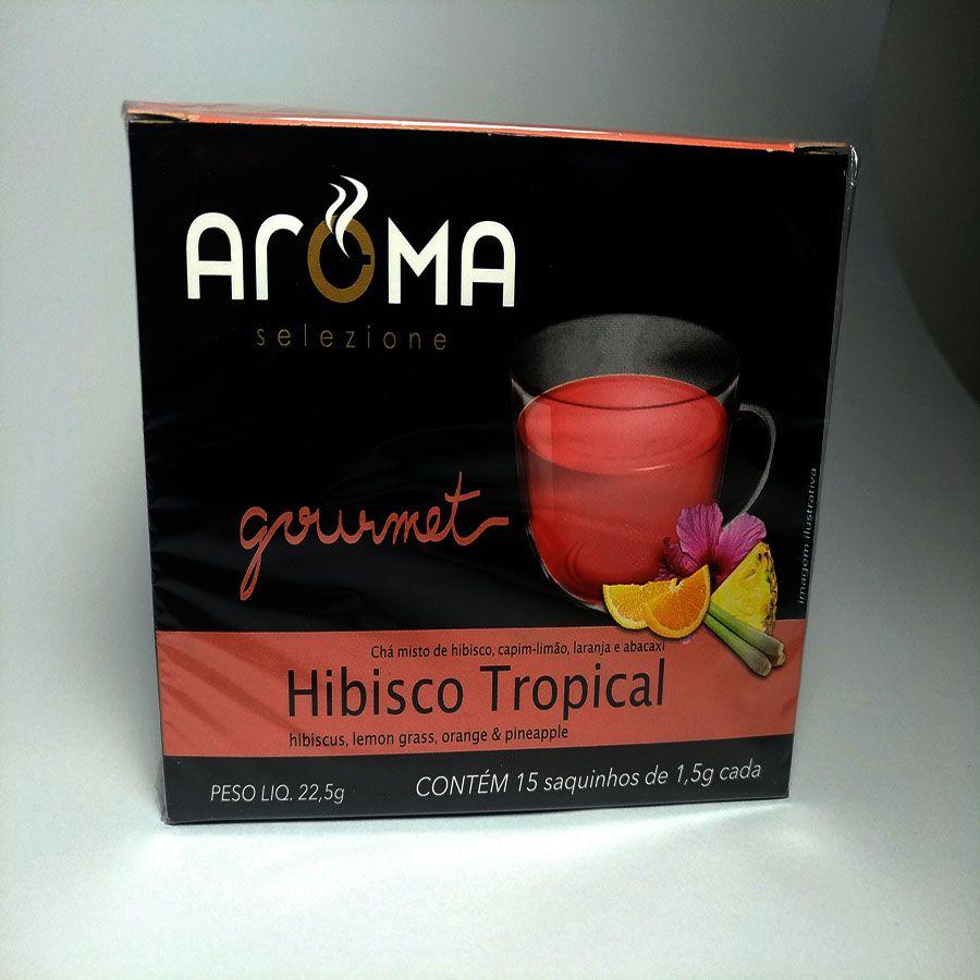 Chá Aroma Selezione Hibisco Tropical Sachê