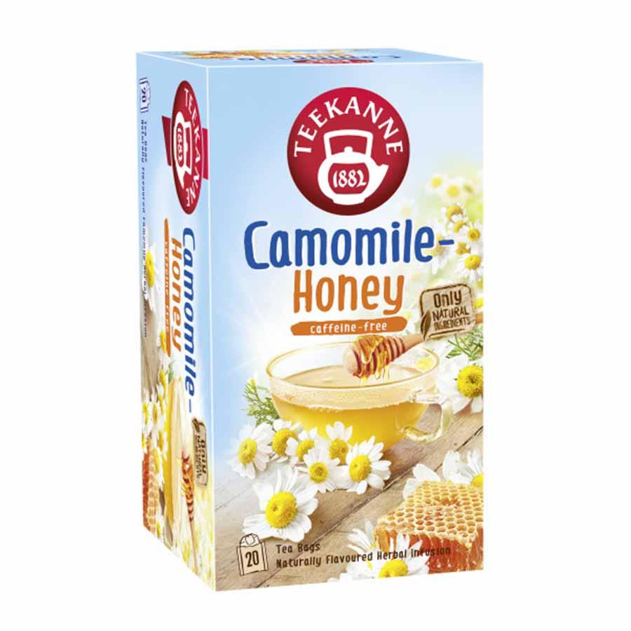 Chá Teekanne Camomila e Mel - 20 sachês