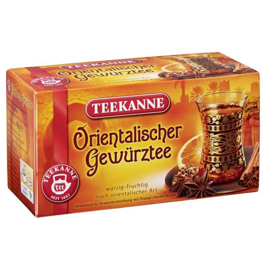 Chá Teekanne Especiarias c/ Laranja e Baunilha (20 saq) 40g