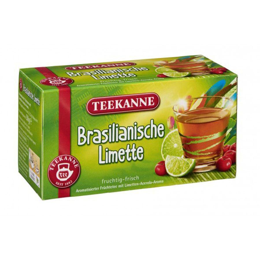Chá Teekanne  Limonada Brasileira com Acerola 20 Sachês