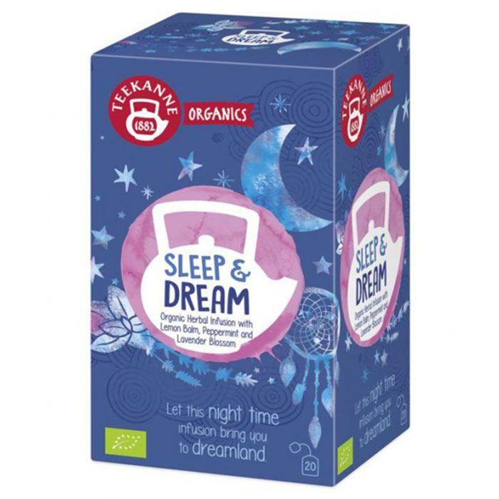 Chá Teekanne Sleep and Dream 20 Sachês