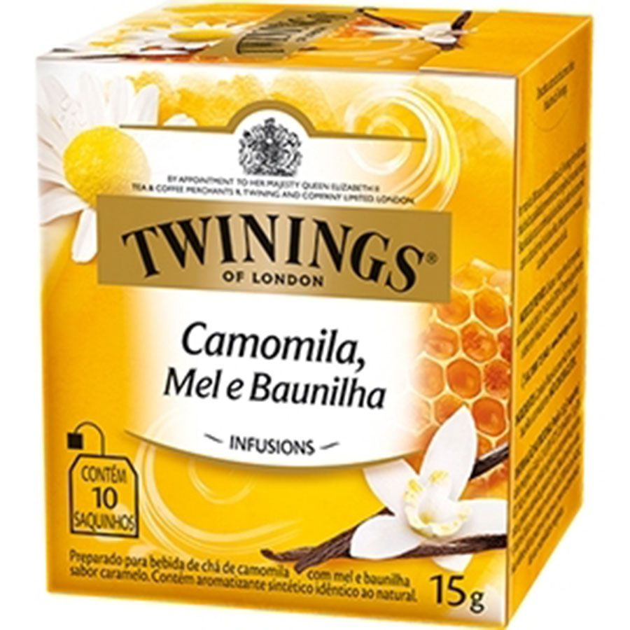 Chá Twinings of London Camomila, Mel e Baunilha
