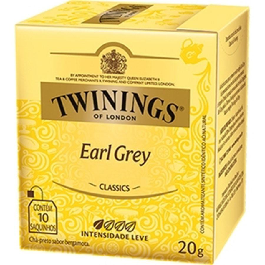 Chá Twinings of London Earl Grey Inglês Importado