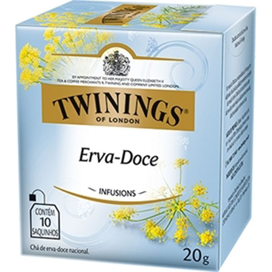 Chá Twinings of London Erva-doce - Importado