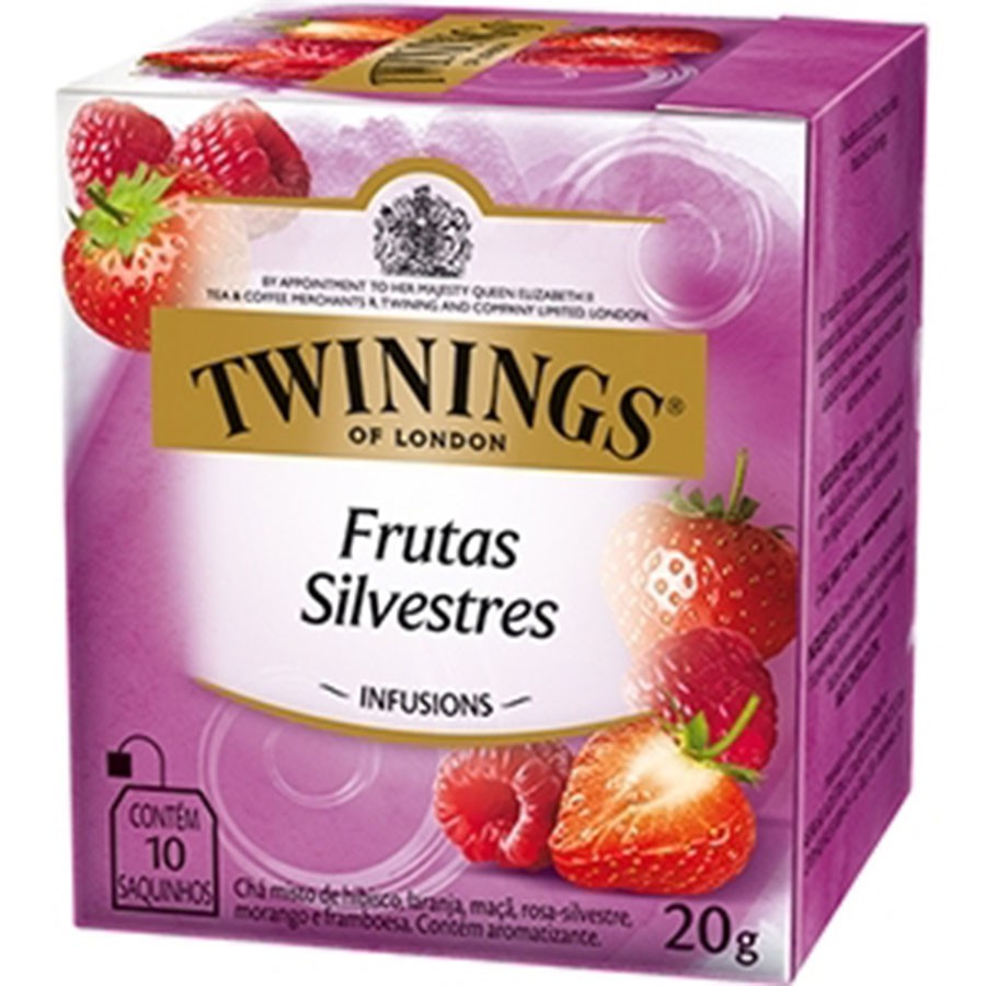 Chá Twinings of London Frutas Silvestres Importado