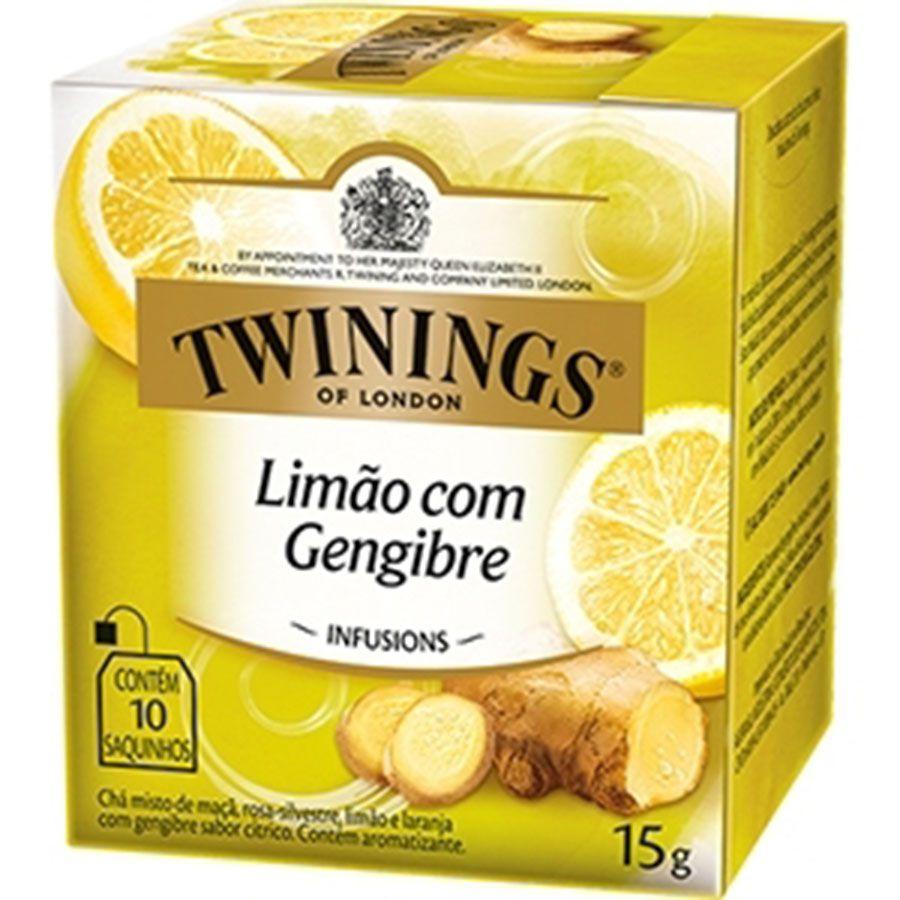 Chá Twinings of London Limão e Gengibre Importado