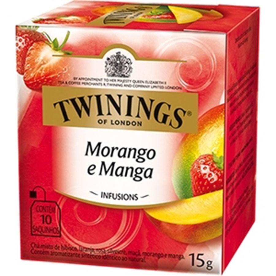 Chá Twinings of London Morango e Manga Importado