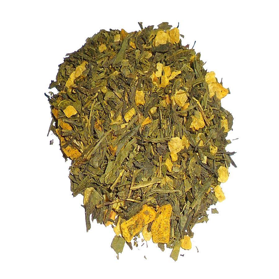 Chá Verde Sweet Curcuma Importado a Granel. 50 gramas.