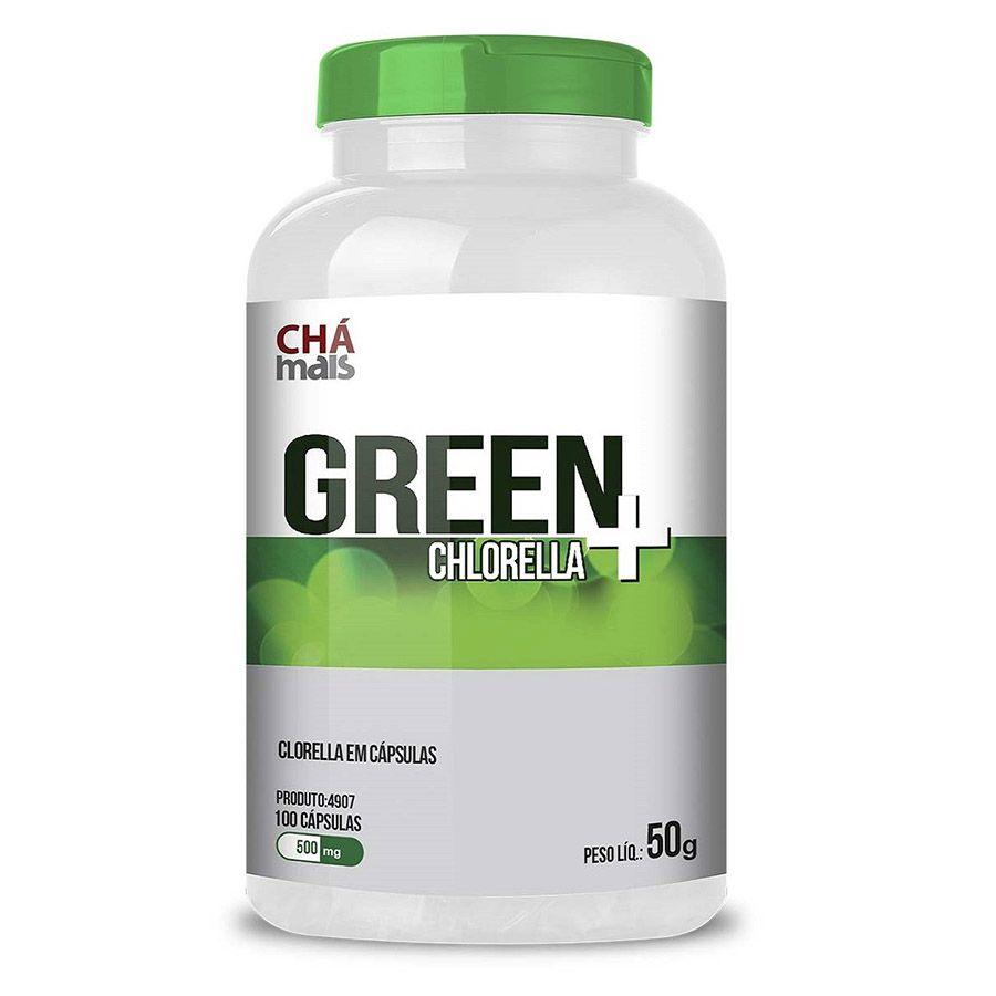 Clorella Green + Chámais 100caps 50g