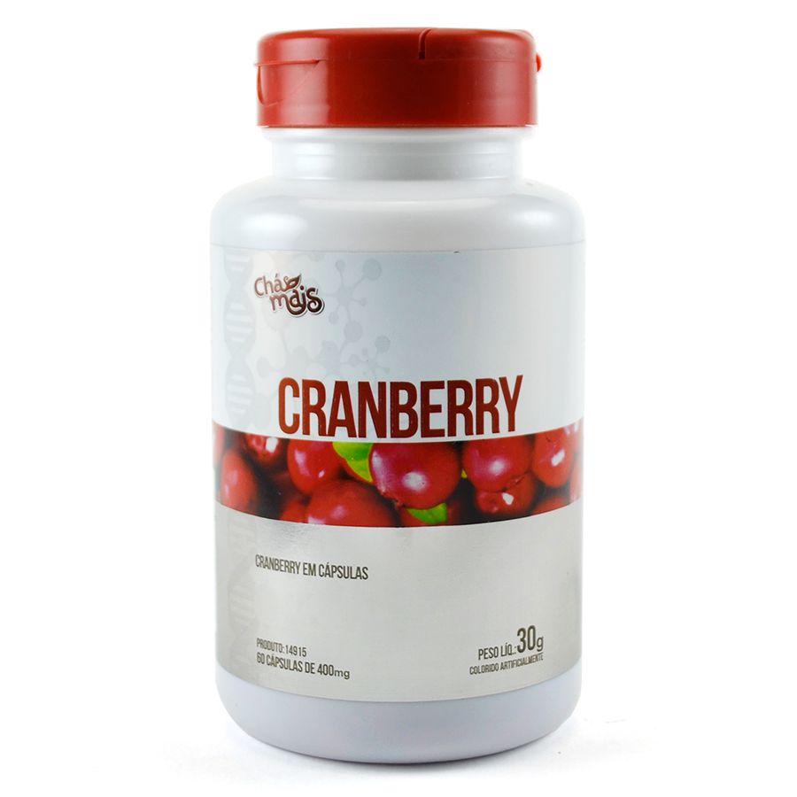 Cranberry Extrato 60 Cápsulas de 400mg