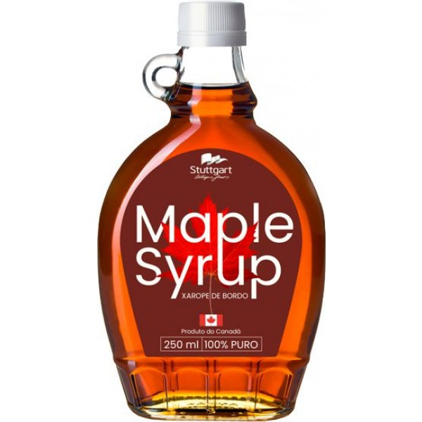 Maple Syrup 100% Natural - Canadá - 250ml