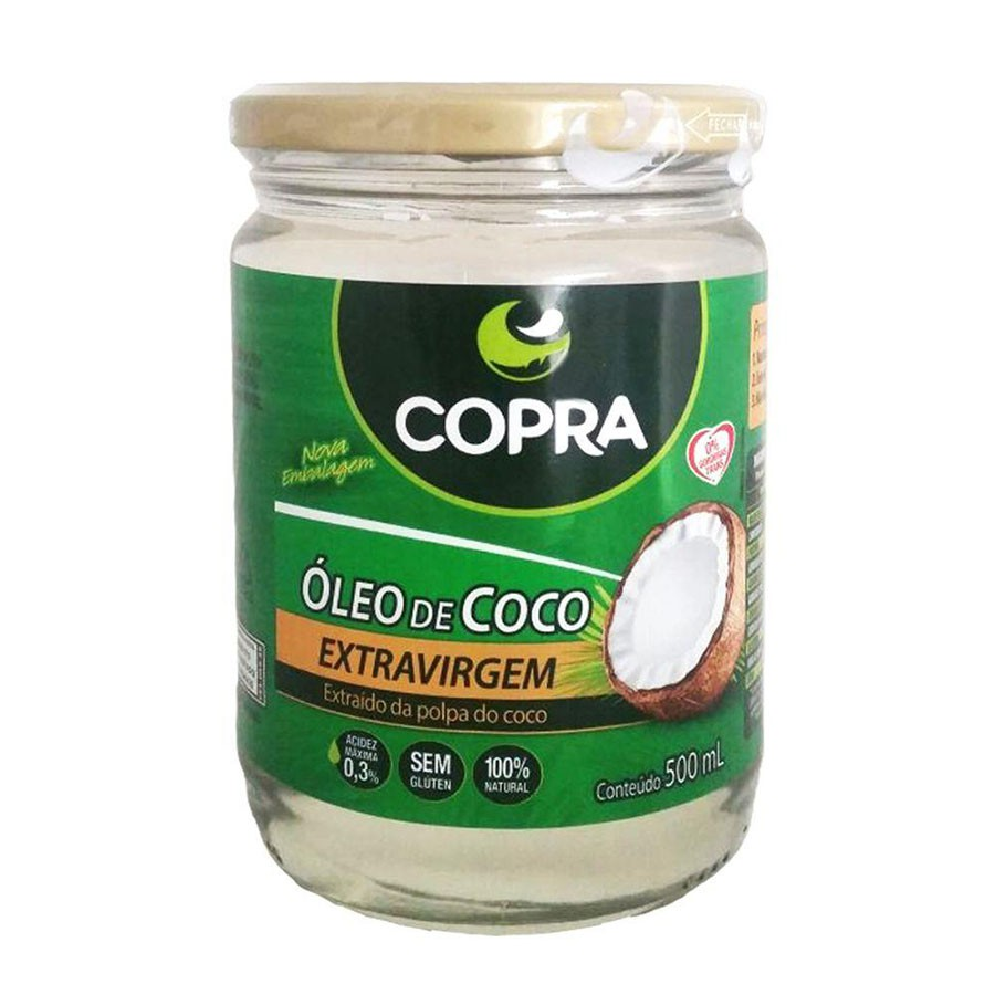 Óleo de Coco Extra Virgem Orgâncio -  Copra 500ml