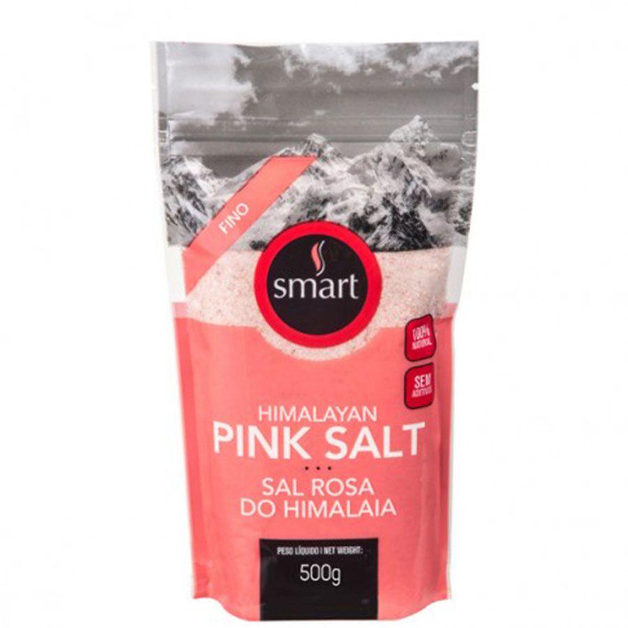 Sal Rosa do Himalaia Fino Smart - 1Kg