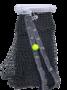 Rede de Tenis Oficial Saque Duplo 3 Lonas Fio 2,5