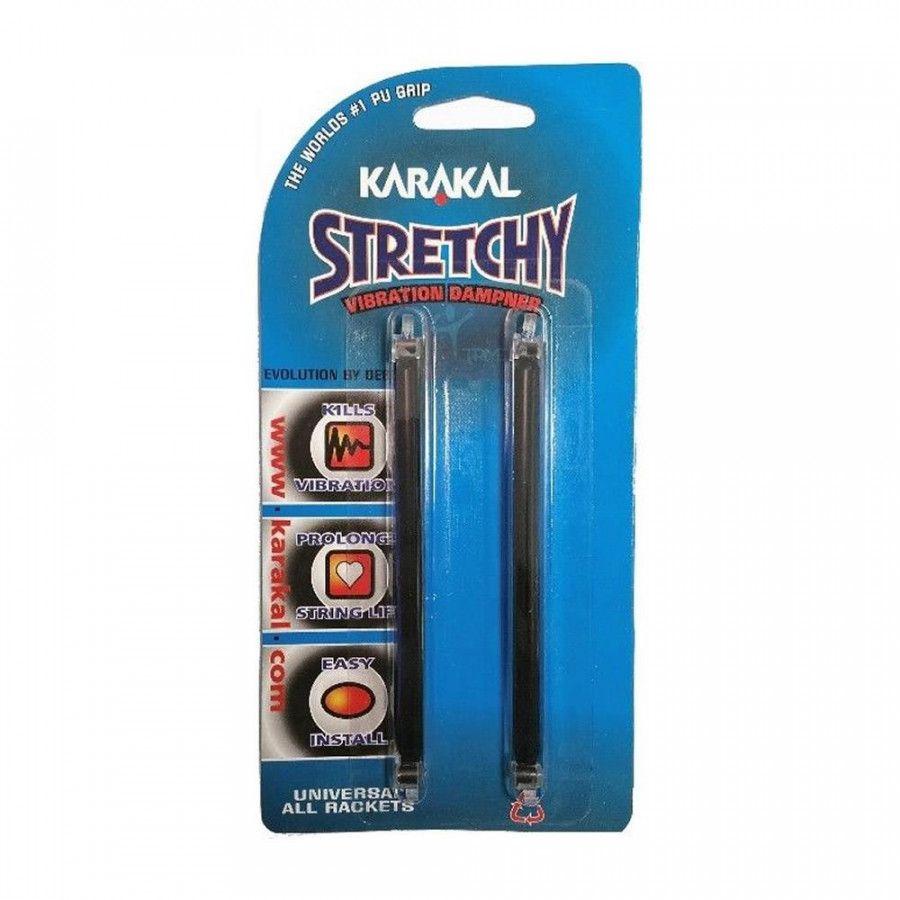 Antivibrador Karakal Stretchy Preto - Unidade