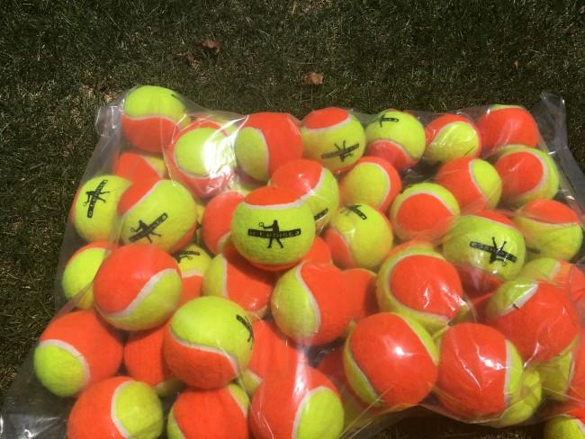 Bola de Beach Tennis Estagio 2 - Kit 10 Bolas O Tenista