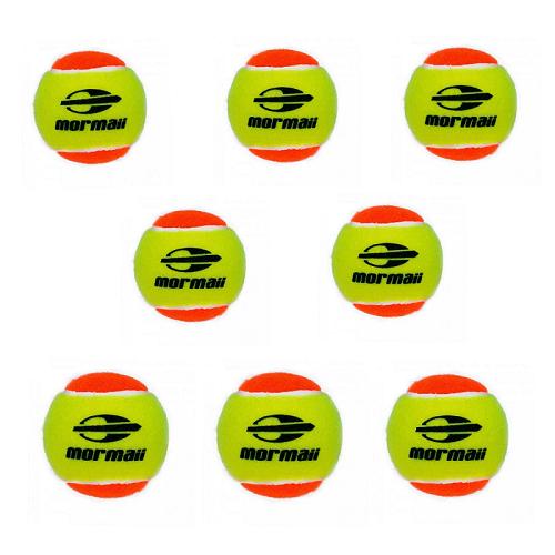 Bola de Beach Tennis Mormaii Pro Kit com 8 bolas