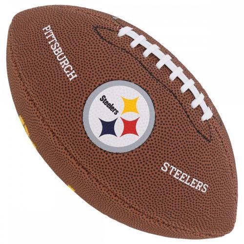 Bola de Futebol Americano Wilson NFL Logo Steelers