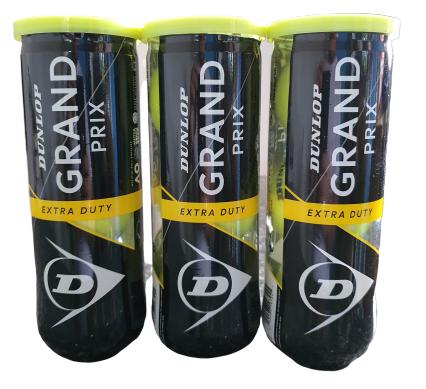Bola de Tenis Dunlop Gran Prix - Pack 3 Tubos