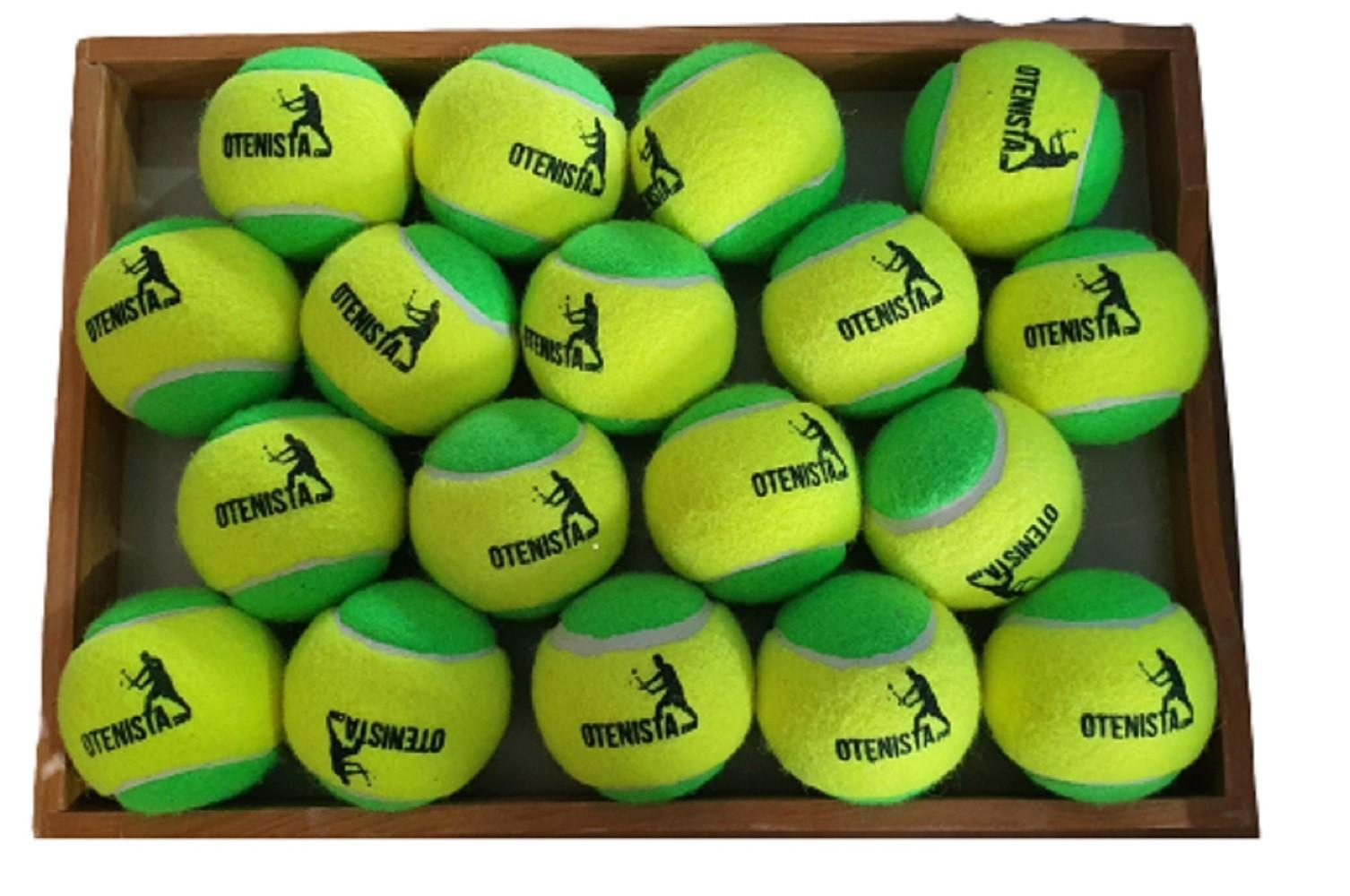 Bola de Tenis Kid Estagio 1 - Saco Com 18 Bolas