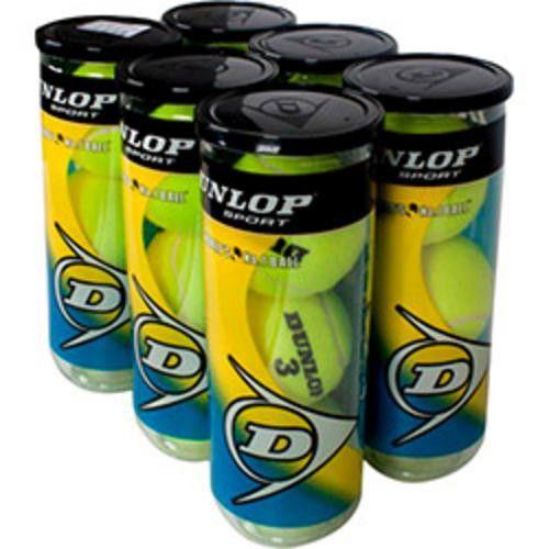 Bola Dunlop Championship - Pack 6 Tubos