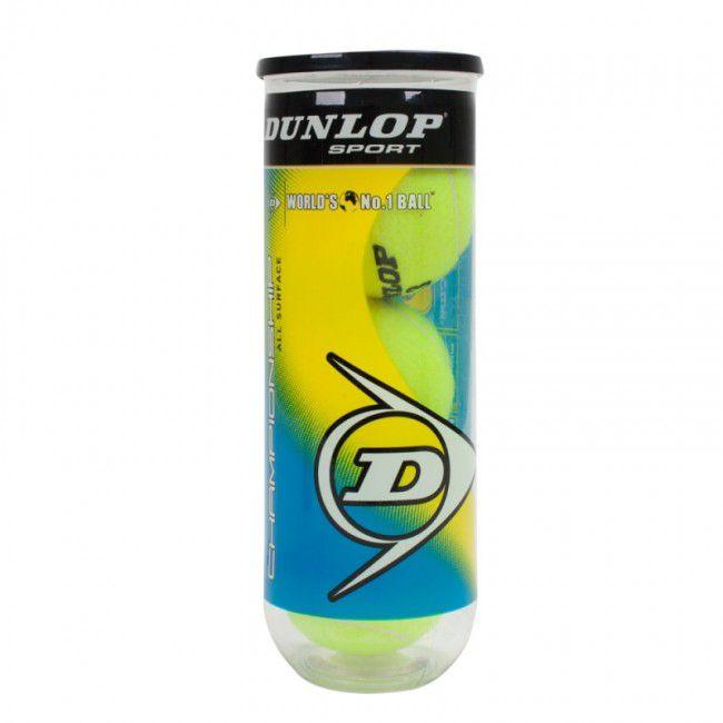 Bola Dunlop Championship Tubo - 3 Bolas