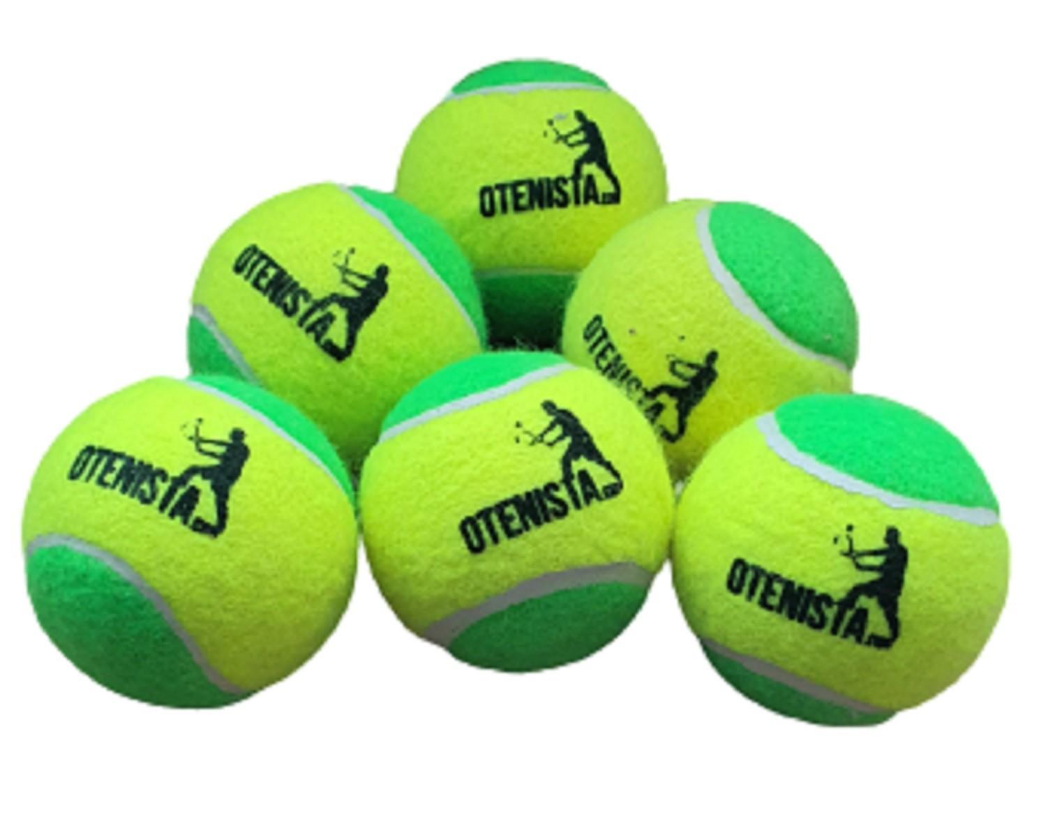 Bolas de Tenis Estagio 1 Infantil O Tenista 6 Unidades