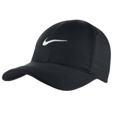 BONÉ NIKE FEATHER LIGHT PRETO LISO