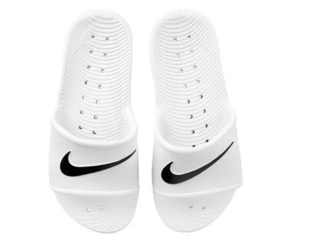 Chinelo Nike Kawa Shower Feminino - Branco