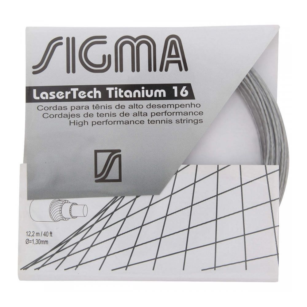 Corda Sigma Laser Tech Titanium 16/1.30 Set Individual