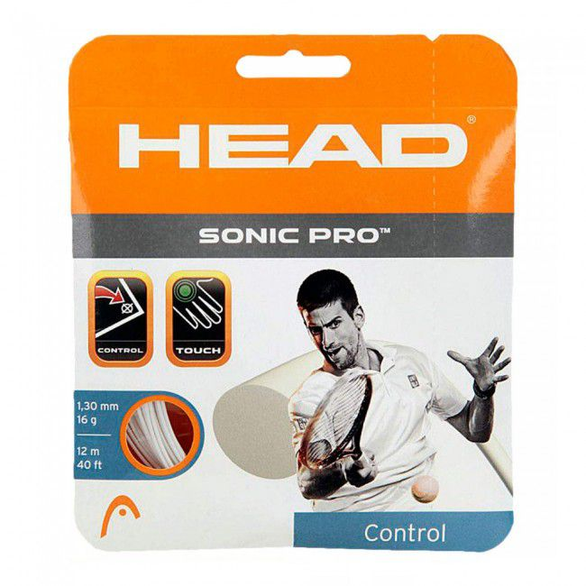 Corda Head Sonic Pro 16L 1.30mm Set Individual - Branco