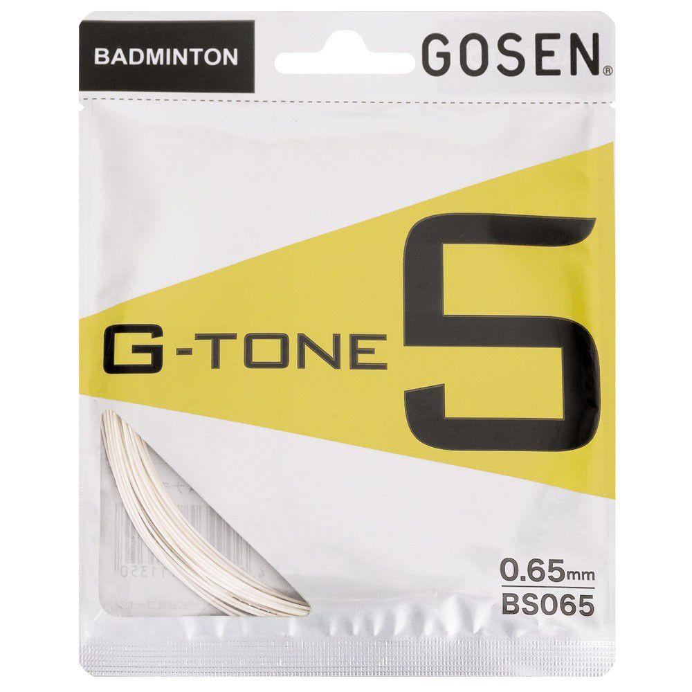 CORDA PARA BADMINTON GOSEN G-TONE 5 NATURAL - SET INDIVIDUAL