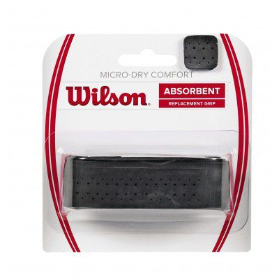 CUSHION GRIP WILSON MICRO DRY COMFORT ABSORBENT PRETO