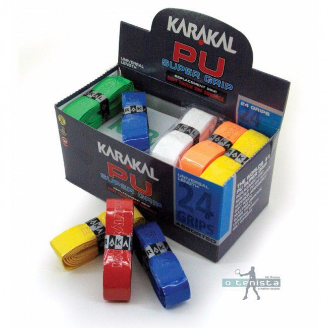 Cushion Karakal Pu Super Grip Unidade - Cores