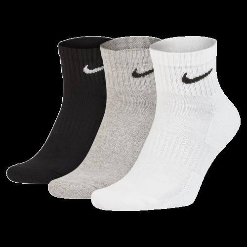 Kit 3 Meias Nike Cano Medio 3 Cores