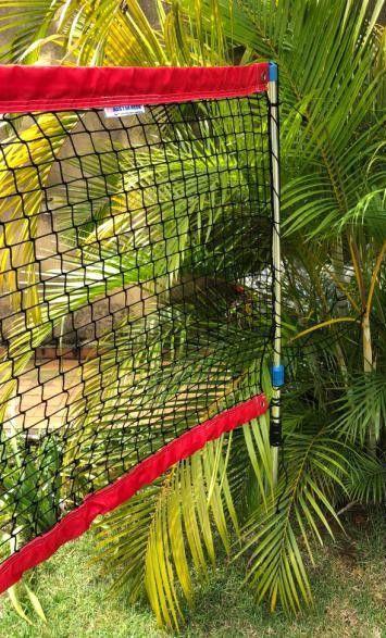 Kit Beach Tennis Desmontável - Poste, Marcação e Bolas