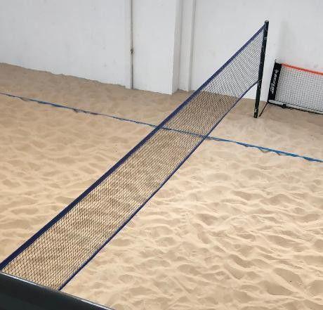 Kit Beach Tennis Futevolei e Volei Pro - telescópio