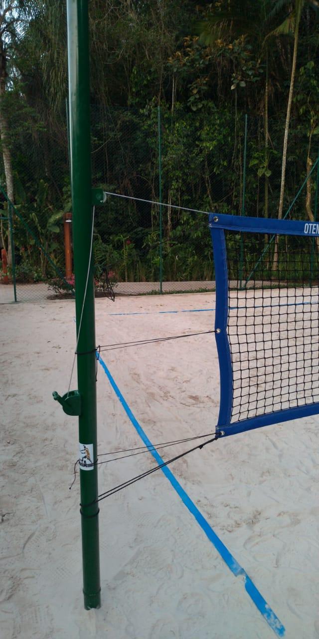 Kit Beach Tennis e Volei Profissional - Poste Double