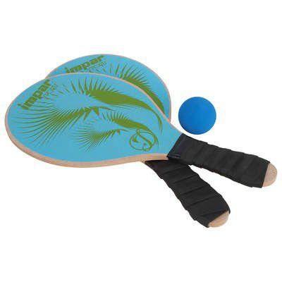 Kit Frescobol Impar - Praia MDF (Azul)