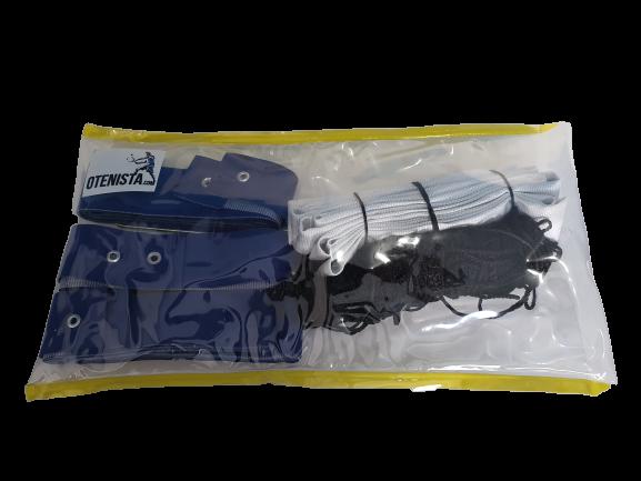 Kit Mini Volei Rede Malha 4x4 Mais Faixa de Marcação