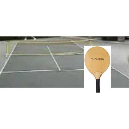 Kit para Mini Tênis Quadra Portátil de Praia/Campo