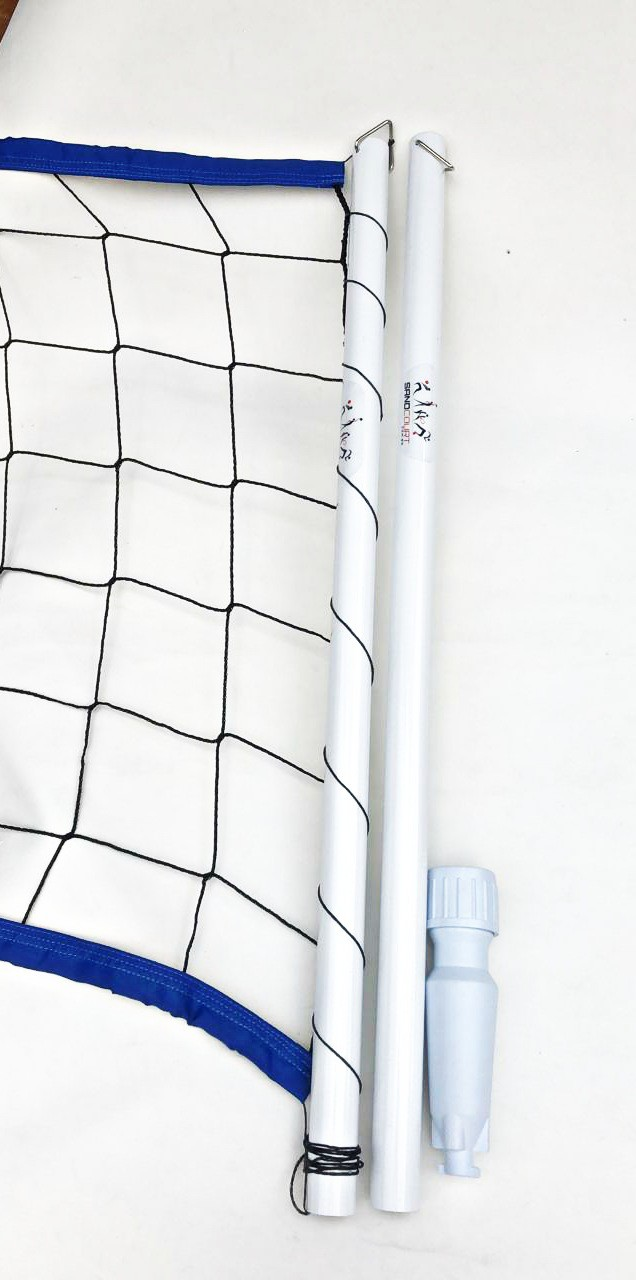 Kit Biribol Pro Poste e Rede 1 Lona Azul