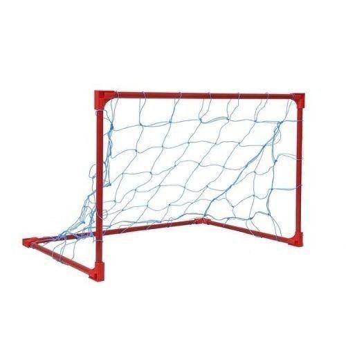 Kit Trave Futebol Mini Quadra Futebol Mini Soccer - Vermelho