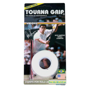 Overgrip Tourna Grip High Tack C/3 - Branco