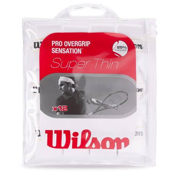 Overgrip Wilson Pro Sensation c/ 12 Branco