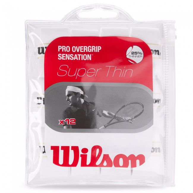 Overgrip Wilson Pro Sensation c/ 8 Branco