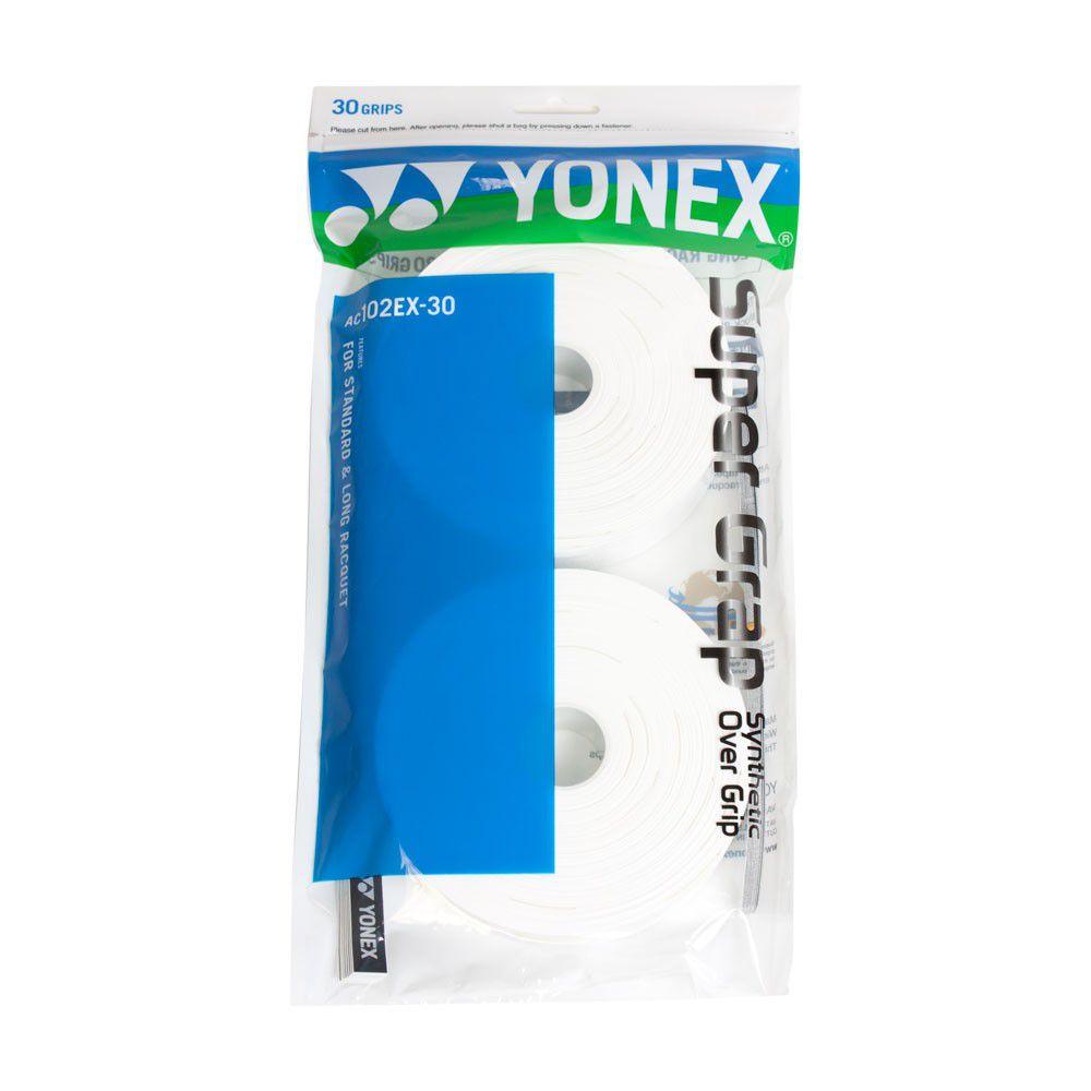 OVERGRIP YONEX SUPER GRAP - COM 30 UNIDADES