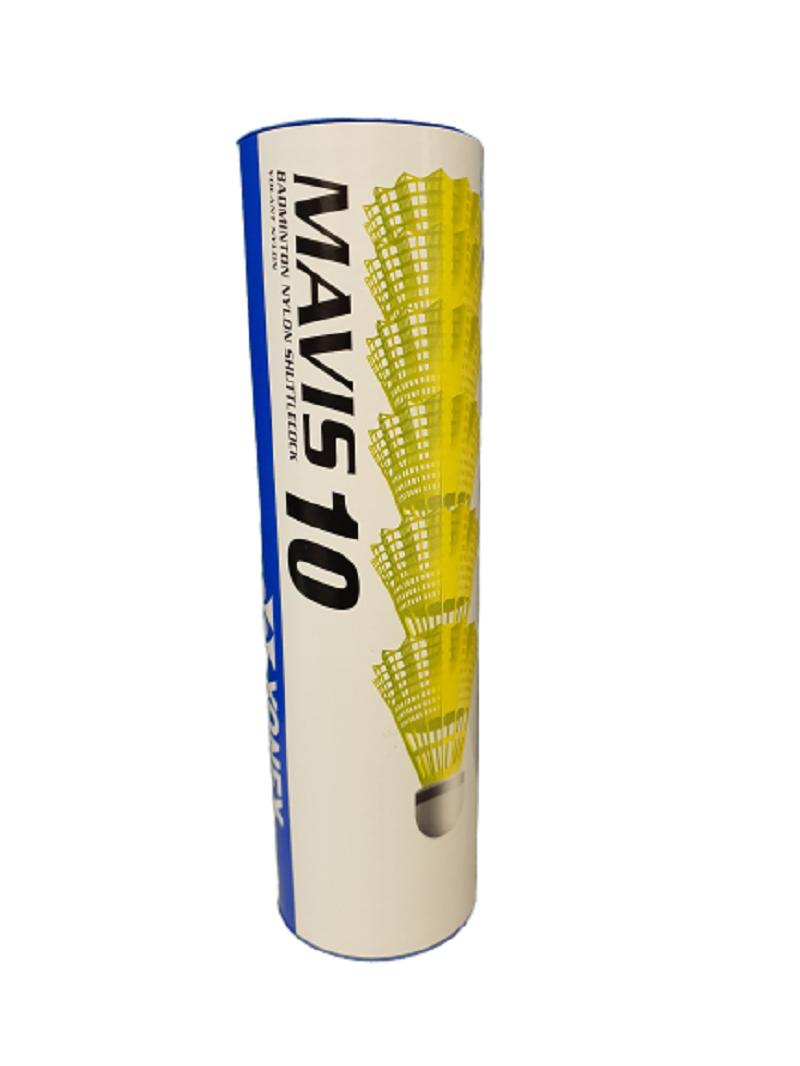 Peteca Badminton Yonex Mavis 10 Tubo C/6 Unidades
